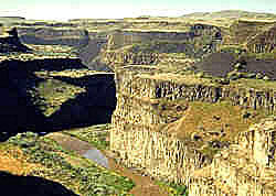 Lewis and Clark--canyon of the Palouse