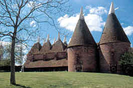 Oast houses at Sissinghurst