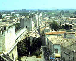 Aigues-Mortes town and walls